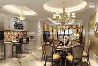 100平米三室两厅欧式风格餐厅图片