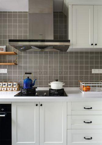 80平米三室两厅北欧风格厨房图