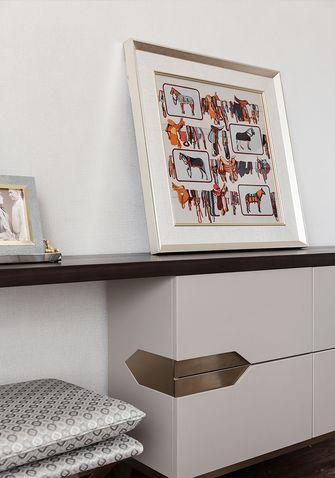 120平米三室两厅英伦风格书房欣赏图