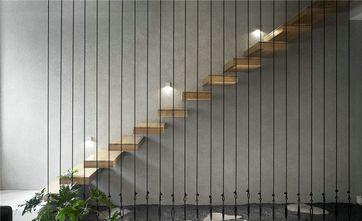 120平米三室两厅欧式风格楼梯间欣赏图
