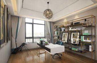 120平米三室两厅其他风格书房图片大全