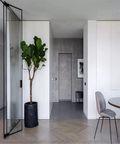 110平米三室两厅英伦风格玄关欣赏图