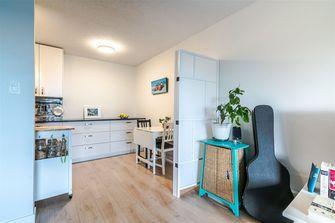 60平米公寓现代简约风格餐厅图片