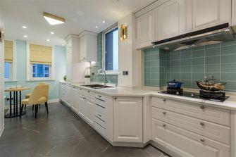 140平米三室三厅英伦风格厨房设计图