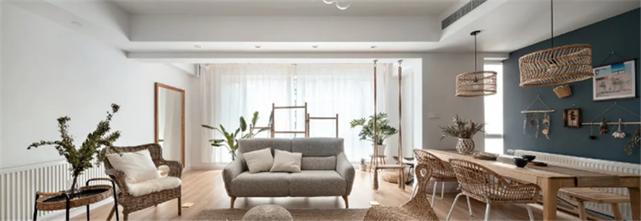 140平米四室三厅日式风格客厅效果图