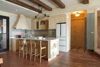 110平米四室四厅田园风格餐厅图片