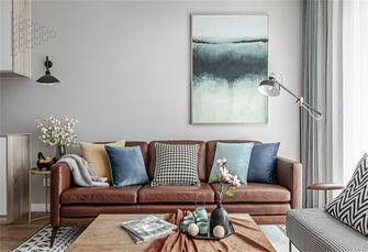 80平米三室两厅宜家风格客厅装修案例