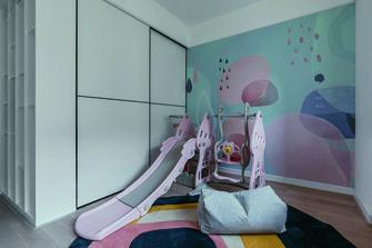 120平米三室五厅北欧风格儿童房效果图