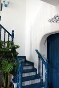 富裕型110平米复式地中海风格楼梯图