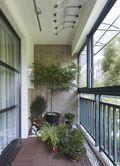 120平米三美式风格阳台装修效果图