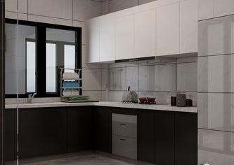 110平米三现代简约风格厨房装修图片大全