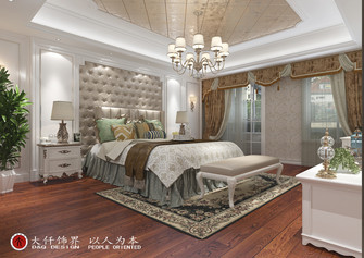 140平米四室四厅欧式风格卧室装修案例