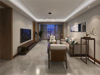 130平米三室两厅中式风格客厅装修图片大全