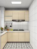 110平米三室三厅日式风格厨房图