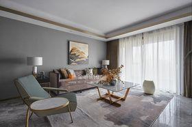 80平米北歐風格客廳裝修案例