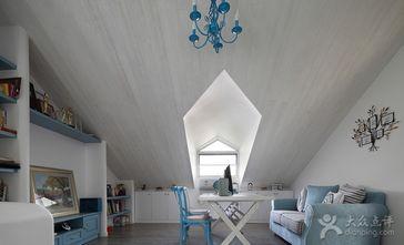 富裕型140平米三室两厅地中海风格阁楼设计图