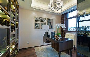 140平米别墅现代简约风格书房吊顶设计图