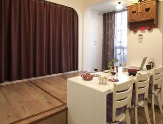 60平米一居室田园风格餐厅欣赏图