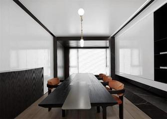 140平米四室五厅现代简约风格餐厅图片大全