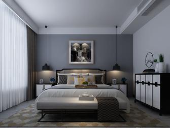 140平米三室三厅中式风格卧室装修案例