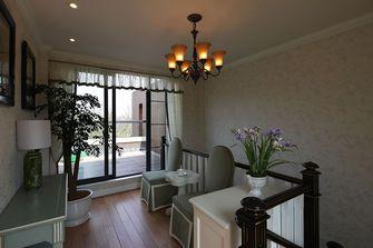 10-15万140平米三室两厅田园风格楼梯装修效果图