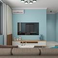 90平米地中海风格客厅设计图