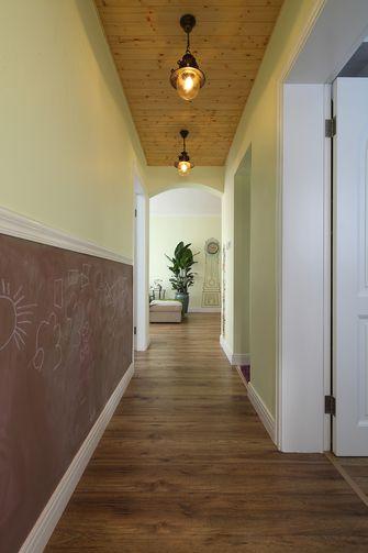 经济型110平米三室两厅田园风格走廊效果图