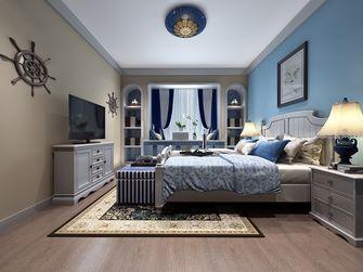 80平米地中海风格卧室欣赏图