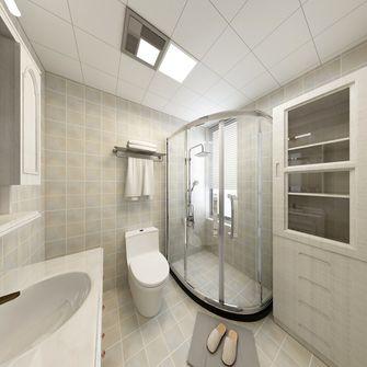 140平米四室两厅美式风格卫生间图