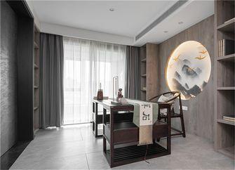 130平米三中式风格书房图
