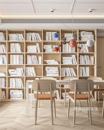 140平米别墅日式风格书房装修案例