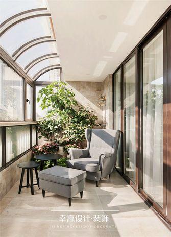 豪华型140平米四室两厅法式风格阳光房装修效果图