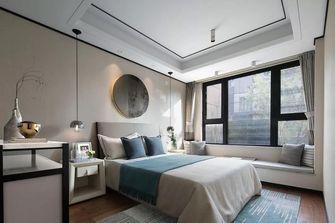130平米三室两厅中式风格卧室装修案例
