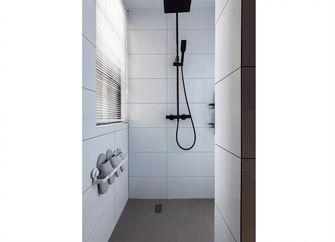 70平米三室一厅北欧风格卫生间图片大全