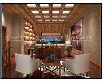 140平米四室三厅美式风格阁楼图片
