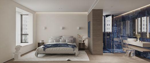 130平米三混搭风格卧室装修案例