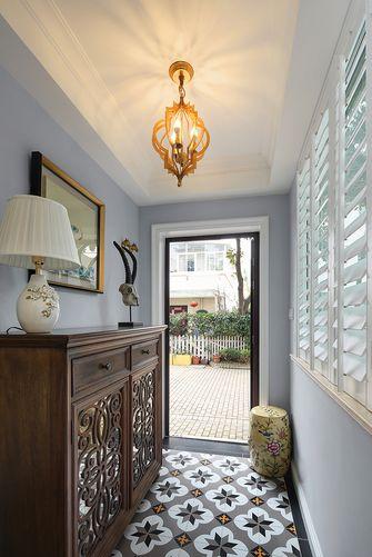60平米一室两厅美式风格玄关欣赏图