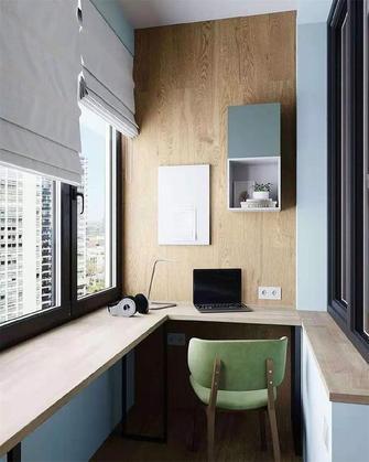 60平米一居室现代简约风格阳台图片