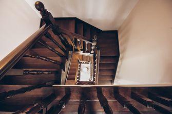 豪华型140平米别墅混搭风格楼梯间装修效果图