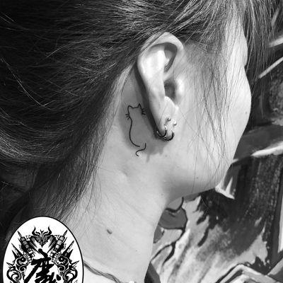 小猫纹身款式图