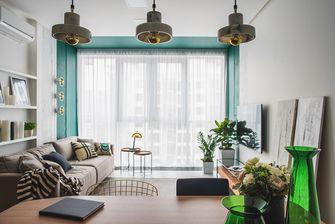 70平米一居室英伦风格客厅图片