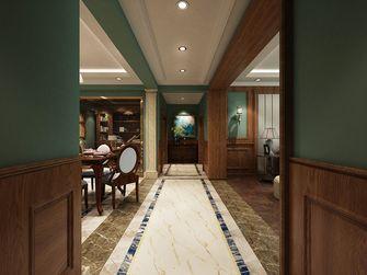 140平米四室两厅英伦风格走廊欣赏图