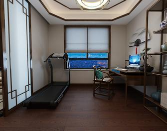 140平米四室两厅中式风格健身室装修案例