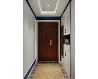 110平米三室一厅美式风格玄关设计图