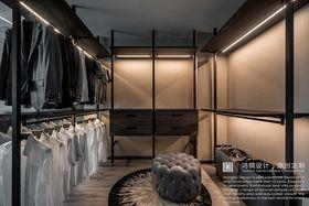 140平米三室兩廳現代簡約風格衣帽間效果圖