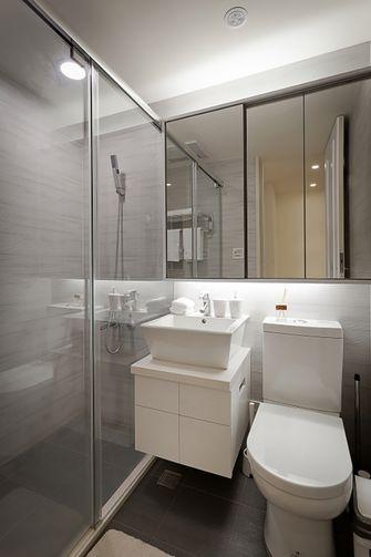 50平米一居室现代简约风格卫生间装修案例
