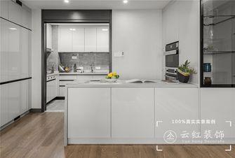 140平米复式现代简约风格厨房图片大全