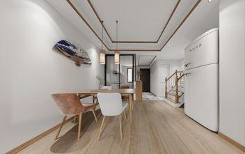 80平米复式日式风格餐厅设计图