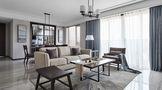 130平米四现代简约风格餐厅沙发图片