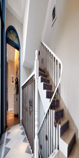经济型100平米地中海风格楼梯图